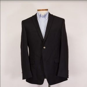 Alfani Mens Black Performance SlimFit Suit 42R NWT